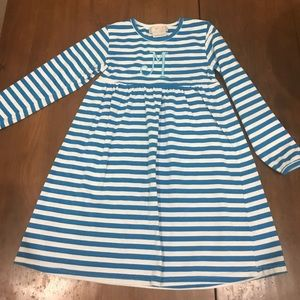Other - Girls Turquoise/White Striped M dress